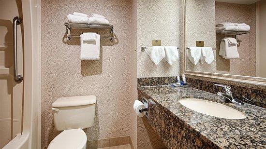 Best Western Plus Toronto Airport Hotel: Guest Bathroom