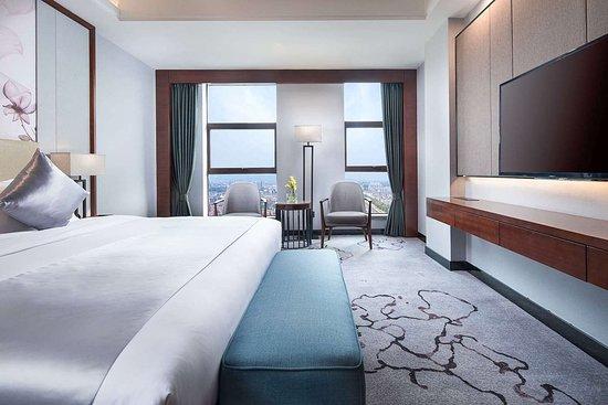 Linxiang, Kina: Guest room
