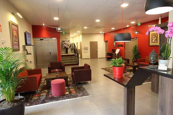 Best Western Hotel Des Barolles - Lyon Sud: Lobby