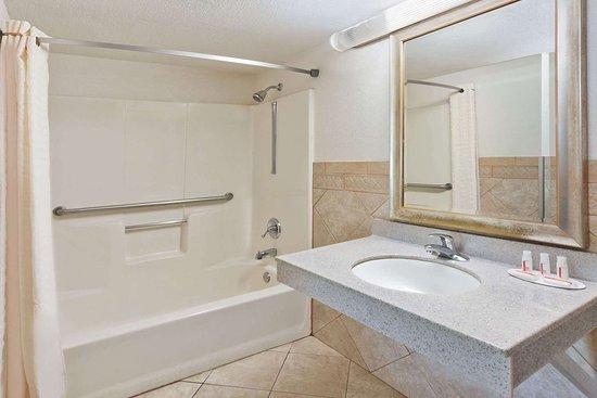 Super 8 by Wyndham Ringgold: Guest room bath