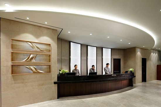 Lotte City Hotel Ulsan: Front Desk