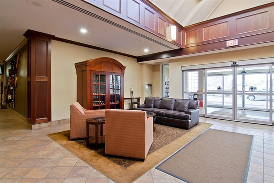Best Western St. Catharines Hotel & Conference Centre: Lobby Seating