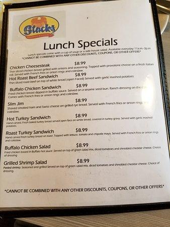 Bala Cynwyd, PA: Dining at Stack's