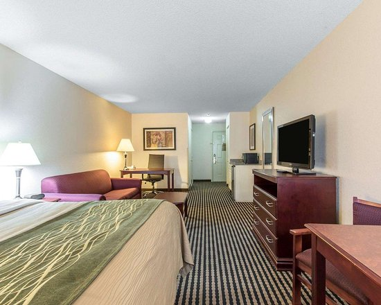 Comfort Inn Birmingham - Irondale: Well-equipped guest room