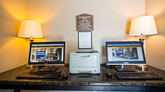 Best Western Willows Inn: Business Center