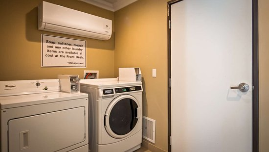 Best Western Willows Inn: Laundry Area