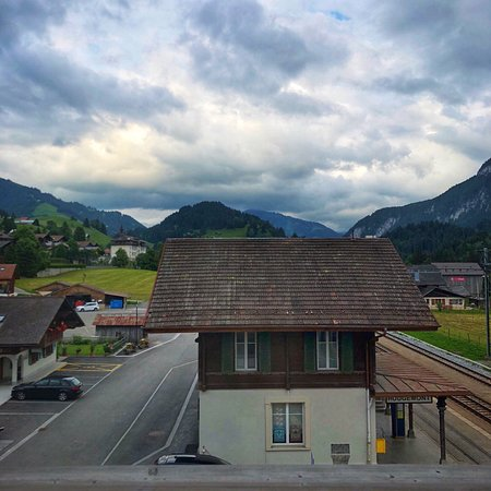 Rougemont, Swiss: Views from Hotel Valrose