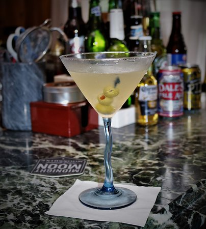 The Inn at Brevard: Dirty Martinia made by Charlene at the Inn