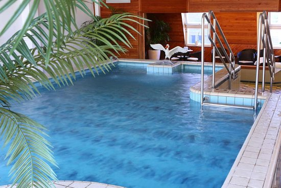 Clarion Hotel Gillet: Relax by the pool
