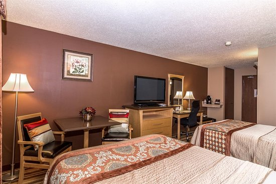 Best Western Marquis Inn & Suites: Two Double Beds