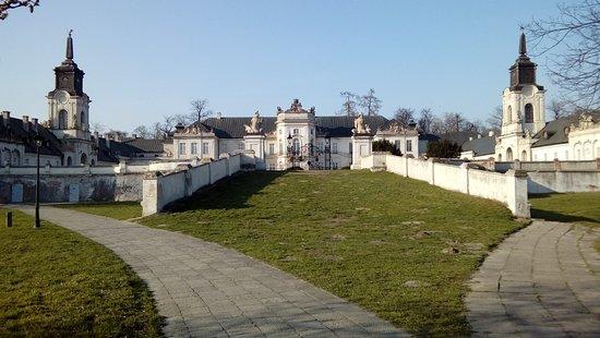 Radzyn Podlaski, Pologne : brama główna do pałacu