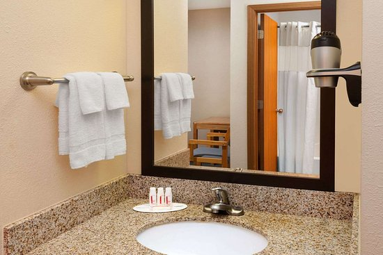 Days Inn by Wyndham Charleston: Guest room bath