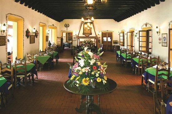 Best Western Plus Posada De Don Vasco: Restaurant