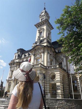 Nowy Sacz, Polônia: Ratusz i jego okolice