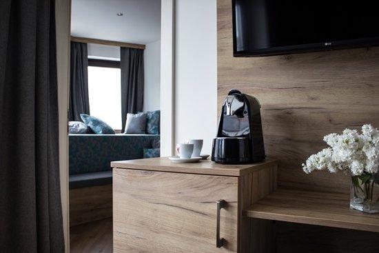 Juniorsuite mit Balkon, 2 getrennte Schlafzimmer, kleine Küche ...
