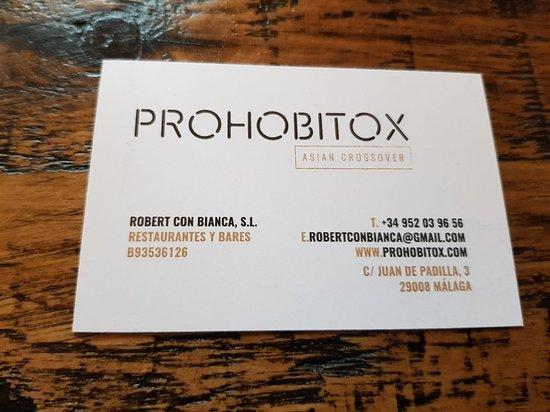 Фотография Prohobitox