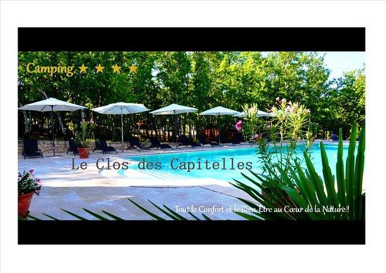 Domaine le clos des capitelles saint privat de champclos for Piscine clos d or grenoble
