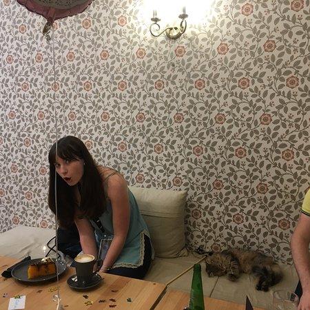 Cat Cafe Liverpool-bild