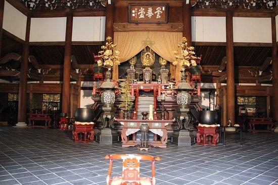 Nanzen-ji Temple: L'intérieur du Nanzen JI
