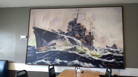 The Silver Anchor: Wall Mural