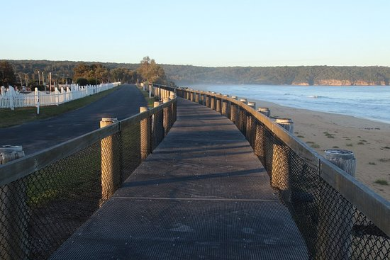 Aslings Beach Boardwalk