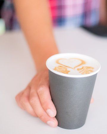 Coffeein: Latte love in your cup