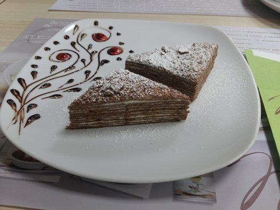 Stryi, Ukraina: My favorite cake Spartak
