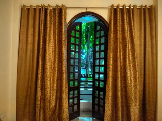 The Desire Hostel: Private Room Balcony with Street View and Garden
