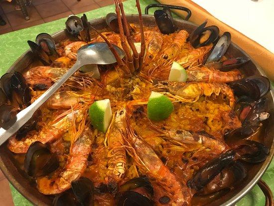 Restaurante Tipico Meson Murciano: Paella