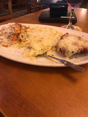 Olive Garden: This is the Lasagna, Chicken, Alfredo