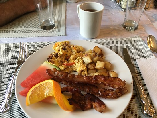 Inn on Bennett: Very tasty breakfast