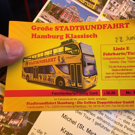Zdjęcie Hamburg Combo: Hop-on Hop-off Tour, Harbor Cruise and Lake Alster Cruise