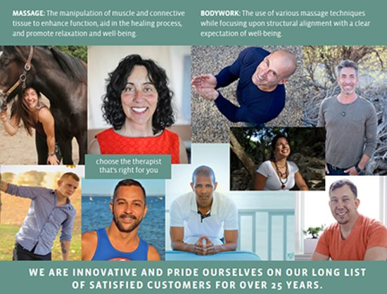 Ptown Massage + Bodywork: 2018 Brochure with current therapists