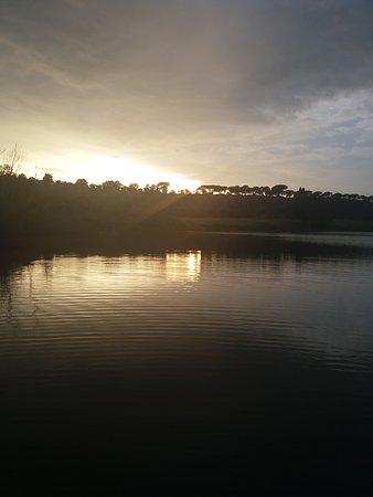 Monterosi, Itália: tramonto