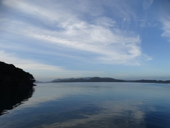 Opua, New Zealand: Secluded bays n the beautiful Bay of Islands