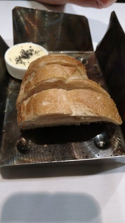 Spencer's for Steaks and Chops: Pre-meal Bread.