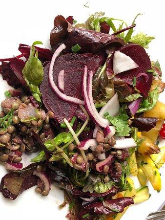 Restaurant If: Assiette végétarienne