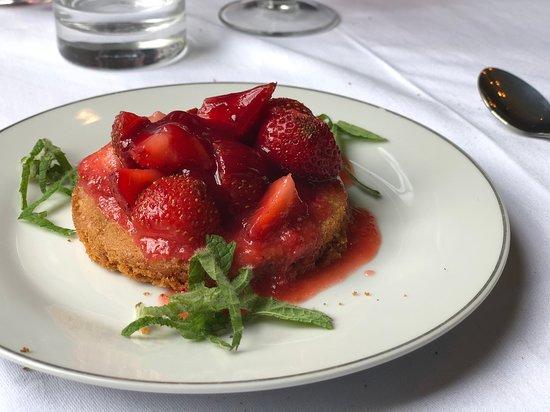 Restaurant If: Tarte aux fraises