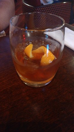 Miller & Carter Leigh-on-sea: Chocolate Orange Old Fashioned - Whiskey with Grand Marnier and crème de cacao