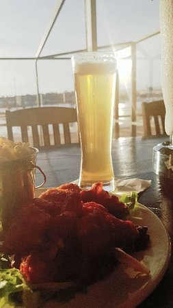 York Bistro + Pub: Come and enjoy a cold one on our patio! 