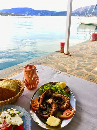 Taverna Korfos: The best octopus