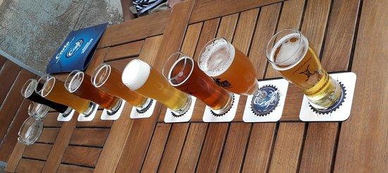 The Craft Beer Pub: a tasting of draft craft beers