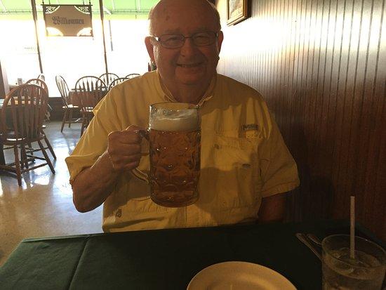 Rheinland Restaurant: He said it was good to the last drop