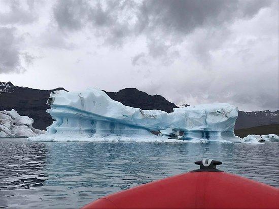Nordic Visitor Tours: Zodiac Boat Ride on the Glacier Lagoon