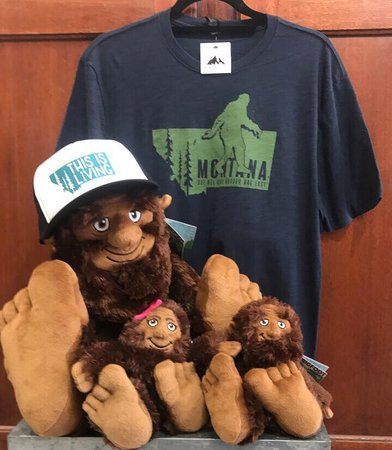 Flair Gifts & Cards: Bigfoot, Sasquatch