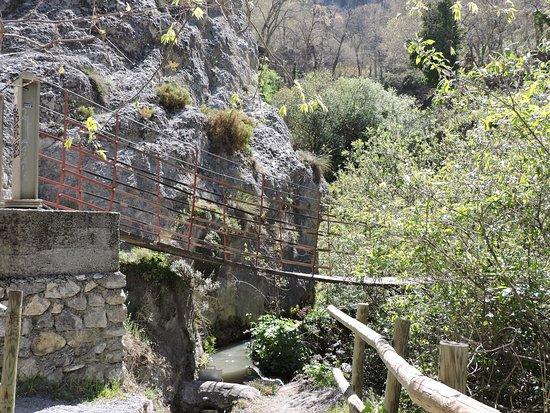 Sendero Nuevo Acceso A Los Cahorros Por Cauce Rio Monachil