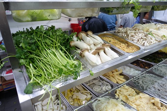 Yang Guo Fu Ma La Tang: Ingredients