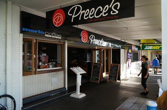 Preece's at the Jetty: Precee's