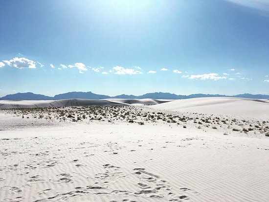 White Sands National Monument: Sand Dunes