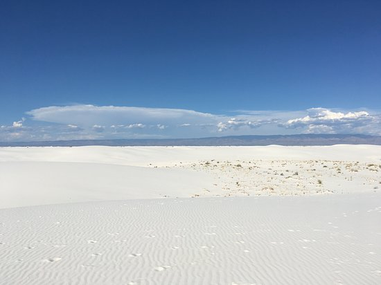 White Sands National Monument: Surreal